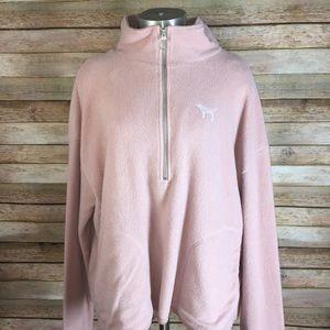 VS Pink Fuzzy Sweater